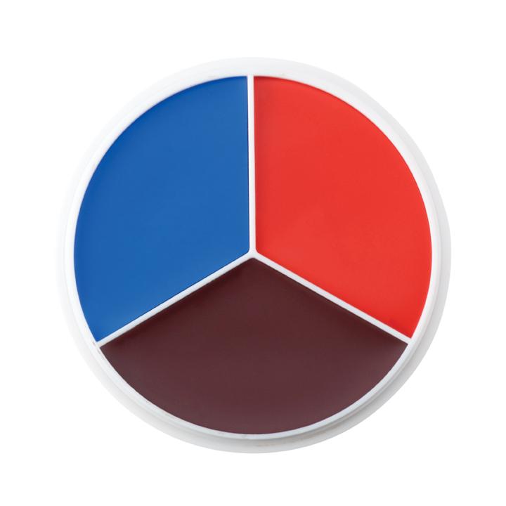 Professional Color Wheel Trauma Simulation 3 Colors Roger Riggle
