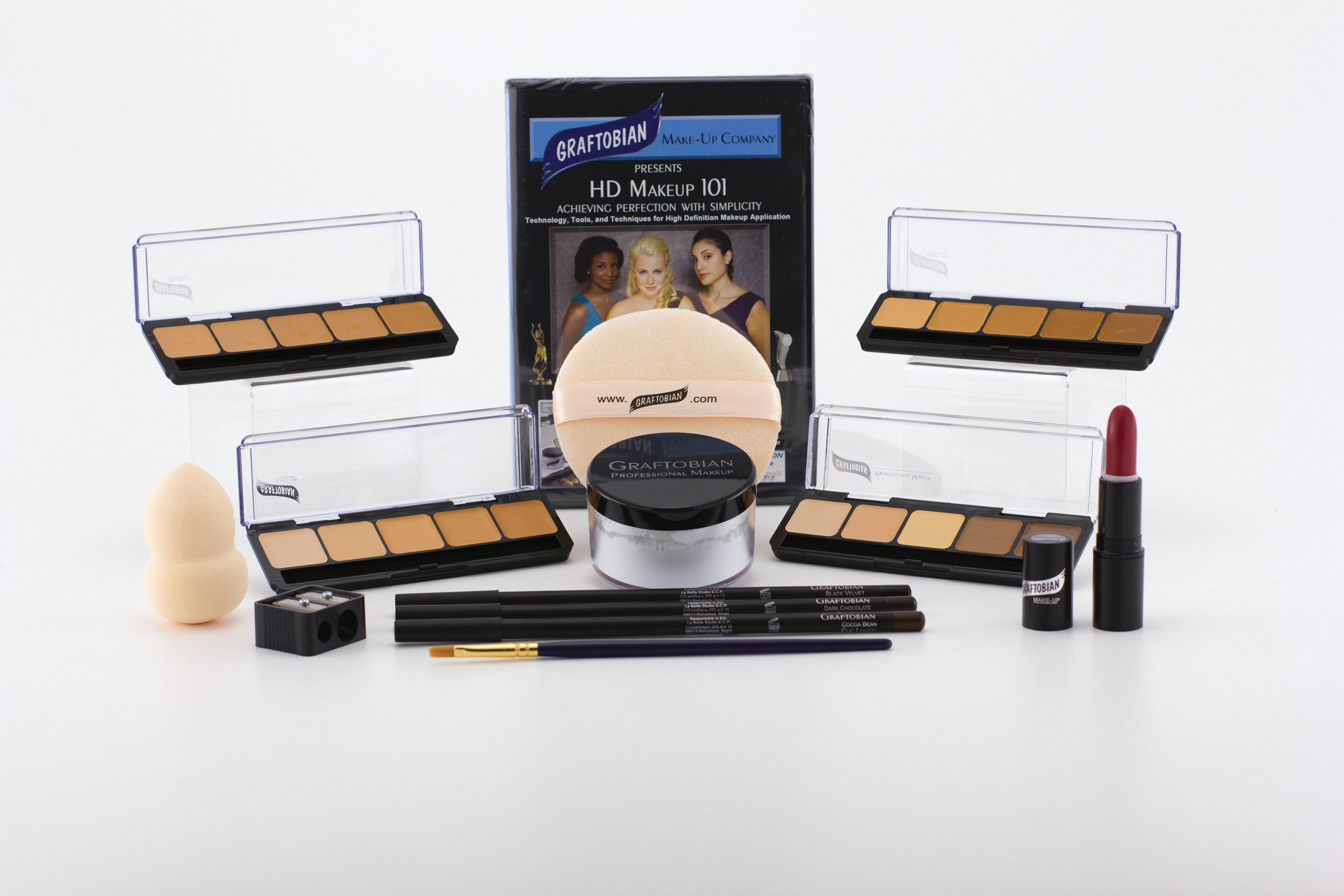 Graftobian UHD Makeup Kits- HD Professional